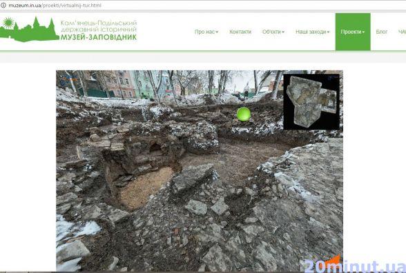 У Кам'янці створили віртуальний тур розкопом на Польському ринку