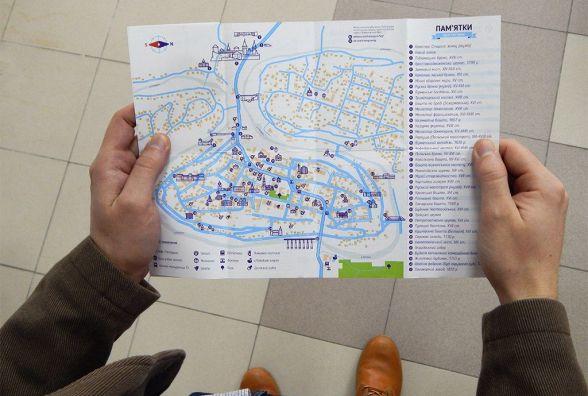 Дунаївчанин створив карту Старого Кам'янця із оновленим логотипом міста (ФОТО)