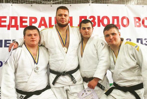 Кам'янецькі дзюдоїсти привезли 5 медалей з Чемпіонату України
