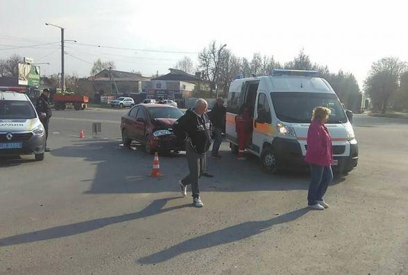 У Кам'янці у ДТП постраждала жінка (ФОТО)