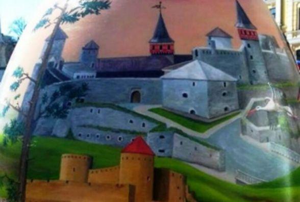 Кам'янецька фортеця у Києві: Старий замок зобразили на великодній писанці