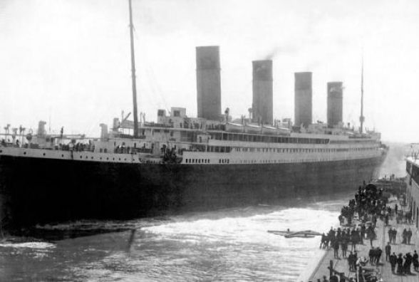 """У своє перше й останнє плавання цього дня рушив """"Титанік"""""""