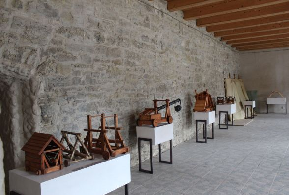 Виставка з винаходами Леонардо да Вінчі вже у Кам'янці