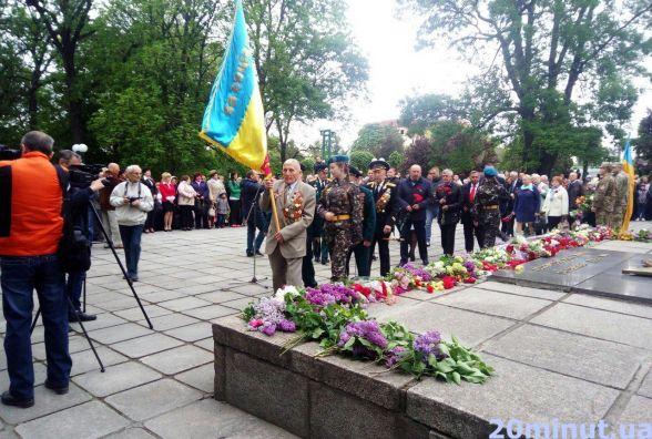 Кам'янець відзначає День перемоги над нацизмом у Другій світовій війні