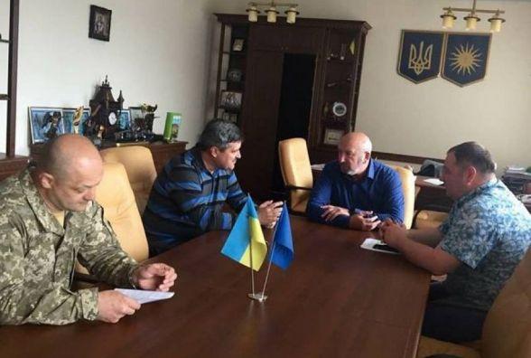 До Кам'янця приїхав представник Генштабу Збройних сил України