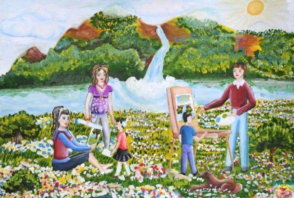 У Кам'янці пройде конкурс сімейних малюнків