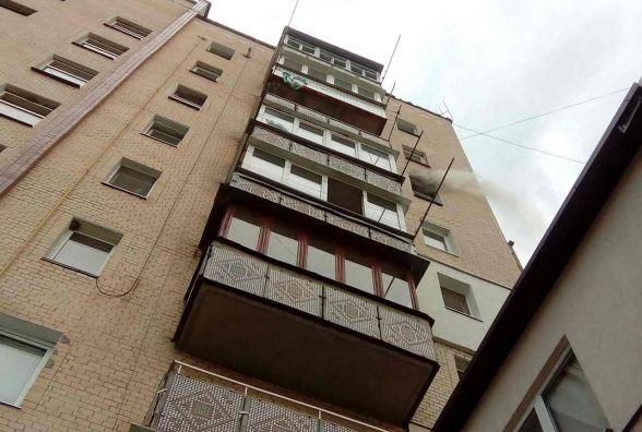 У Кам'янці горіла квартира на 7 поверсі