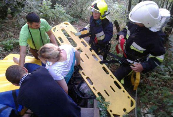 У Кам'янці на екстримальній атракції травмувалася жінка