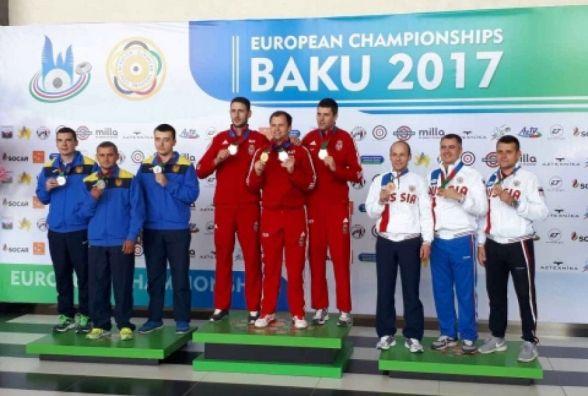 Випускники кам'янецького вишу здобули 5 медалей на Чемпіонаті Європи у стрільбі з малокаліберної зброї