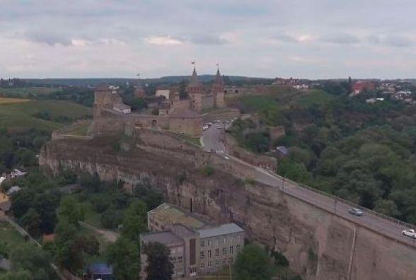 Всеукраїнський проект показав Кам`янець з висоти пташиного польоту