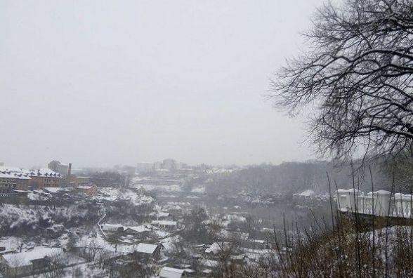 На вихідні у Кам'янці буде хмарно і трошки сніжно. Прогноз погоди