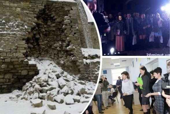 Приїзд Марини Порошенко, обвал частини фортеці і рекорд шлюбів. Топ-5 подій у Кам'янці минулого тижня