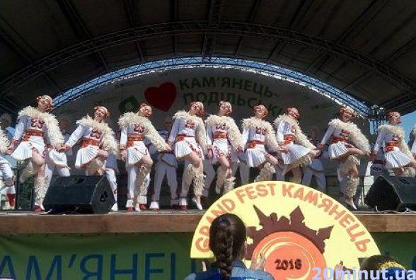 """У Кам'янці відбувся масштабний фестиваль """"Grand Fest Kaм'янець. Весна-2018"""""""
