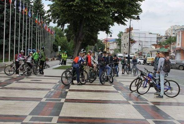 Кам'янчани взяли участь у велопробізі до Дня міста (ФОТОРЕПОРТАЖ)
