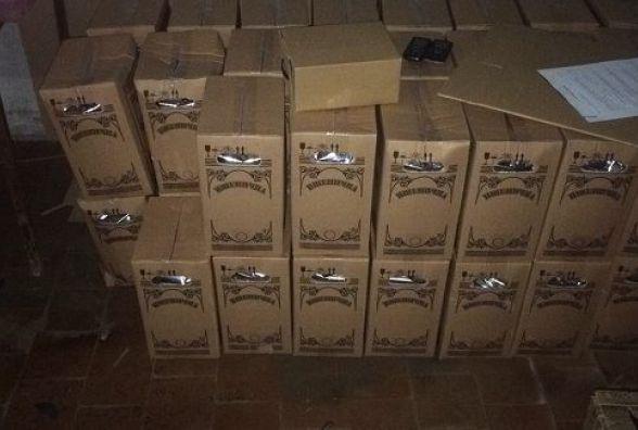У Кам`янці викрили злочинну групу, яка виготовляла і збувала фальсифікований алкоголь (ФОТО)