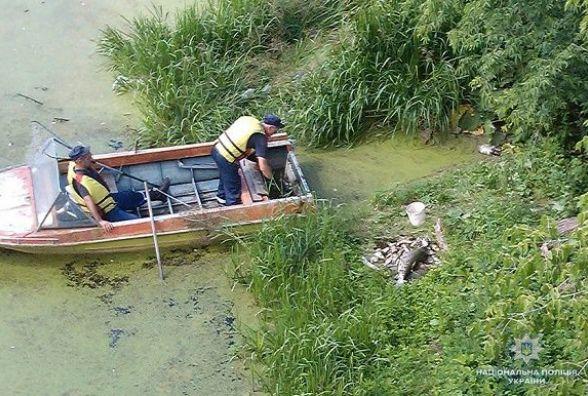 У Кам'янці поліція розслідує масову загибель риби у річці Смотрич