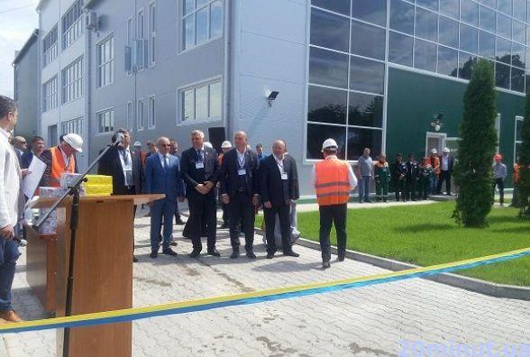 У Кам'янці розпочала роботу перша в Україні теплоелектростанція на біомасі (ФОТО)