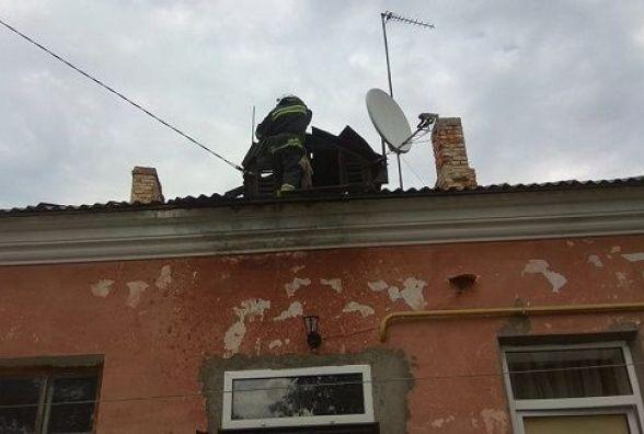 У Кам'янці загорівся житловий будинок (ФОТО)