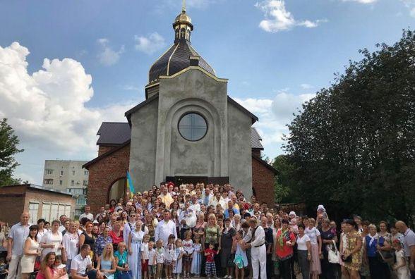 У Кам'янці відбулося освячення п'ятого храму УГКЦ