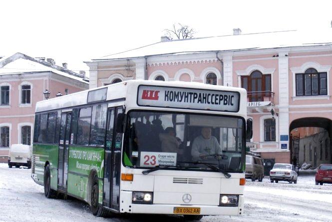Опублікували графік руху комунальних автобусів у Кам'янці