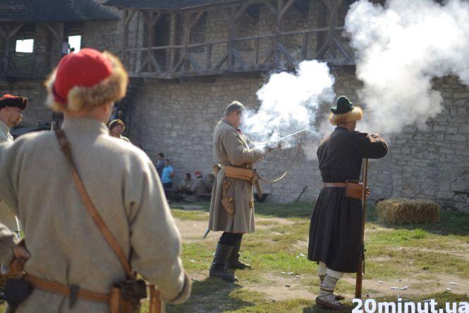 Ненудні уроки історії. У Кам'янці завершився фестиваль «Schola Militaria»