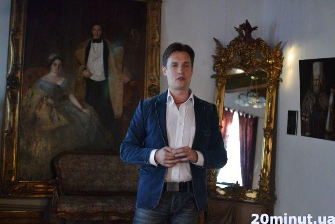 У Кам'янці відбулася презентація нової книги Макса Кідрука «Зазирни у мої сни»