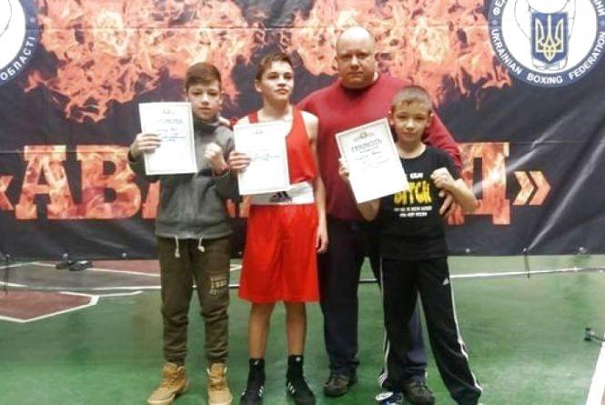 Юні кам'янецькі боксери привезли з чемпіонату області призові місця