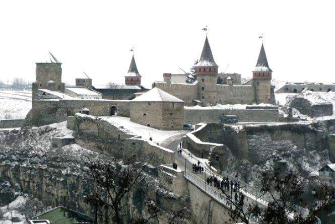 «Замковий міст» для Кам'янця у січні заробив майже 230 тисяч гривень