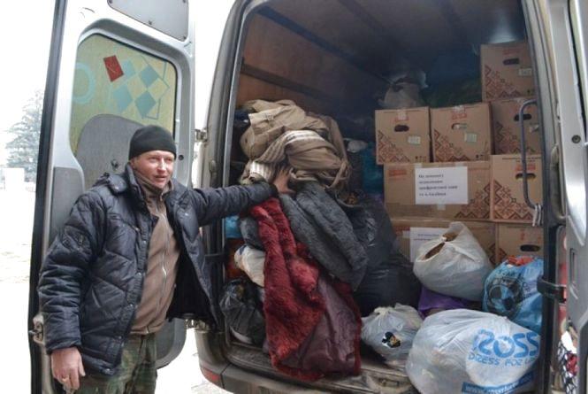 Кам'янчани зібрали ще 2,5 тонни гуманітарної допомоги на Схід