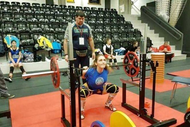 Кам'янчанка-пауерліфтер перемогла на Чемпіонаті Європи
