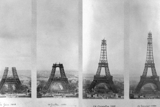 Цього дня офіційно відкрили Ейфелеву вежу