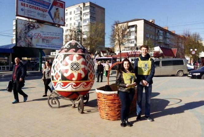 У Кам'янці триває благодійна акція «Великодній кошик»