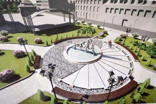 У Кам'янці облаштують сквер біля Ратуші