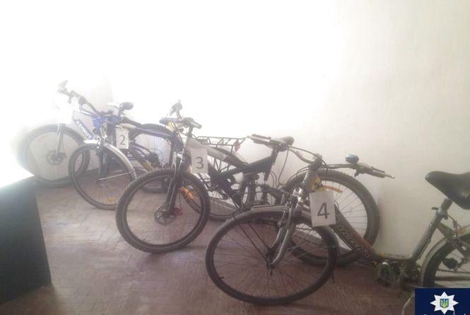 У Кам'янці затримали злодіїв, що поцупили 16 велосипедів (ФОТО)