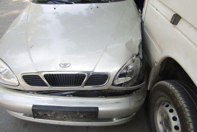 У Кам'янці сталася ДТП  за участю 5 автівок