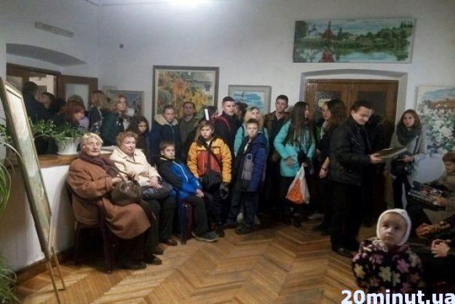У Кам'янці відкрили виставку знаменитого художника