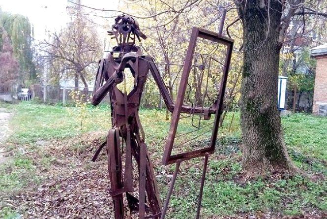 Незвичайні скульптури Кам'янця-Подільського