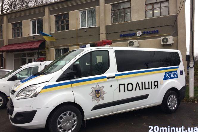 Перша в Україні мобільна поліцейська станція  - на Кам'янеччині