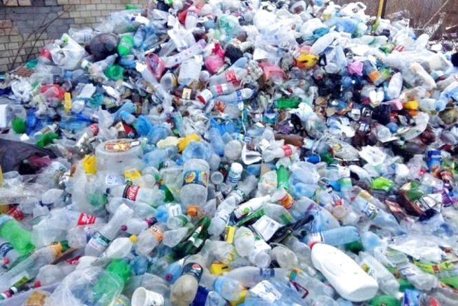 У Кам'янці зібрали перший пластик для переробки