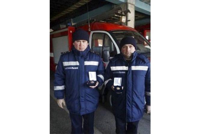 Рятувальників із Кам'янця відзначив міністр внутрішніх справ України