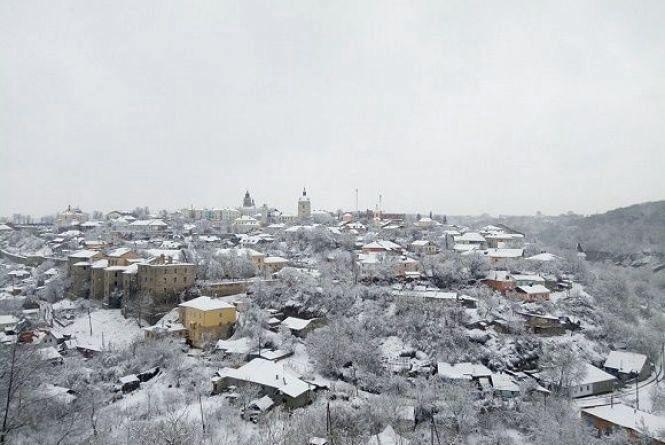 У Кам'янці у День закоханих сніжитиме