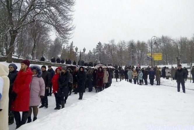 Кам'янчани взяли участь у мітингу, щоб вшанувати пам'ять воїнів Афганістану
