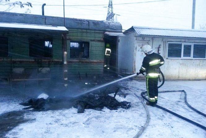 У Кам'янці через неправильне використання печі загорілася будівля