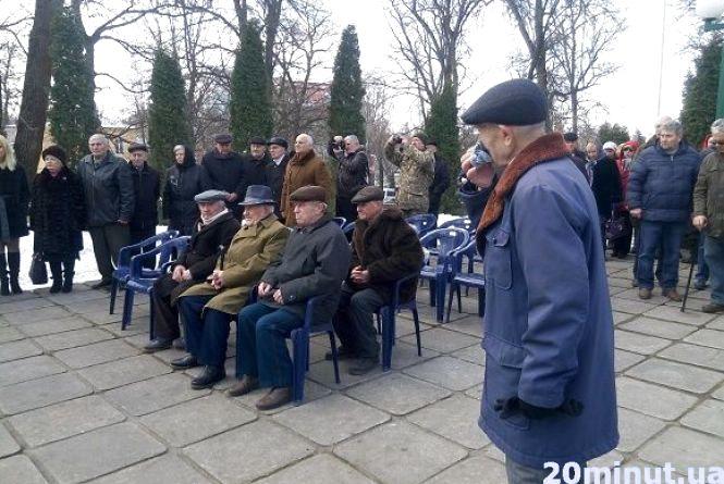 У Кам'янці відбулися урочистості з нагоди 74-ої річниці визволення міста