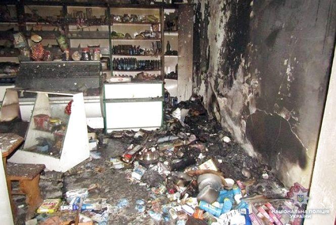 Трьох хлопців із Кам'янця підозрюють у пограбуванні та підпалі магазину