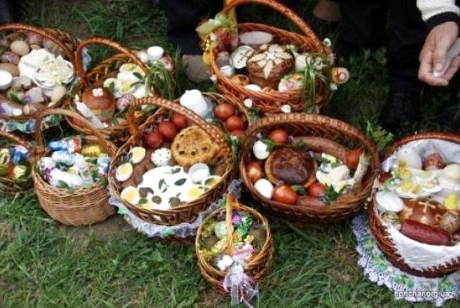 Як змінилась вартість продуктів до великоднього кошика у Кам'янці за рік?
