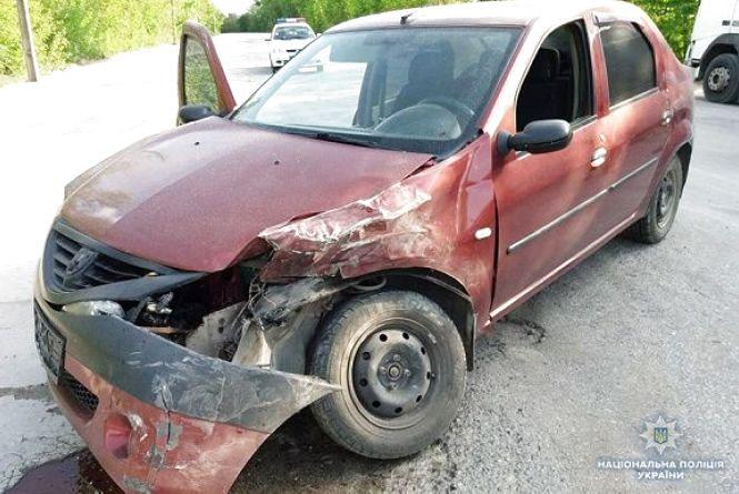 Неподалік Кам'янця зіткнулися дві машини. Госпіталізували пасажирку
