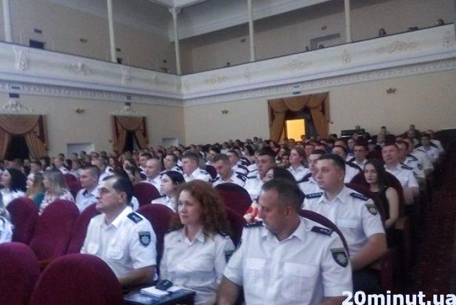 У Кам'янці відбулися урочистості до Дня поліції (ФОТО)