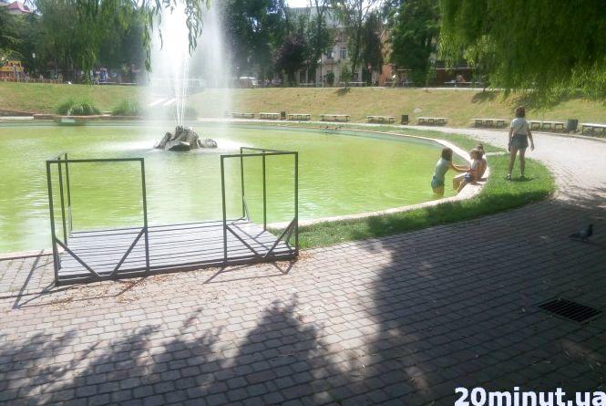 Чи можна купатися у фонтанах Кам'янця-Подільського?