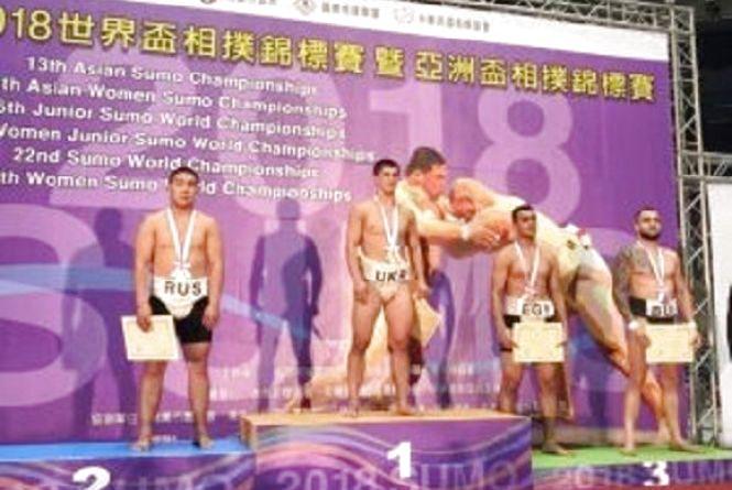 Студент Кам'янець-Подільського університету переміг у чемпіонаті Світу з сумо